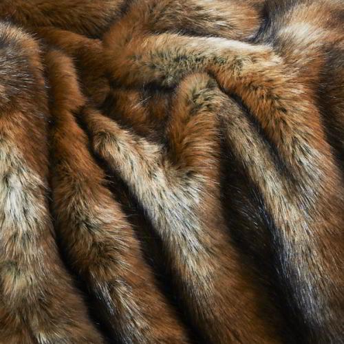 CARMA Bodenkissen Fuchs brown 70x70 cm
