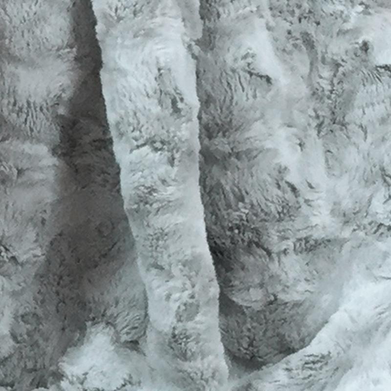 CARMA Bodenkissen Lamm platin 70x70 cm
