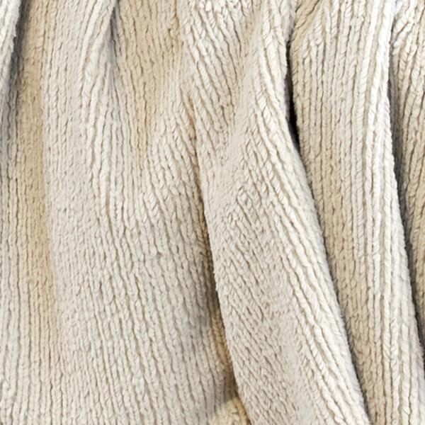 CARMA Plaid Strickkanin beige 140x180 cm ohne Fransen