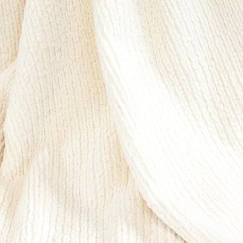 CARMA Kissen Strickkanin white 40x40 cm