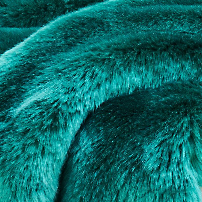 CARMA Kissen Seal smaragd 40x40 cm