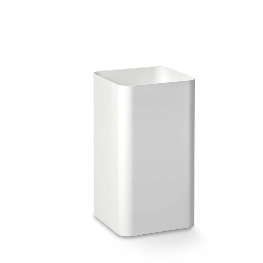 FLOW Papierkorb 35 cm, RAL 9016 verkehrsweiß, nahtlos