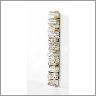 PTOLOMEO WALL Bücherregal Wandregal 70 cm schwarz