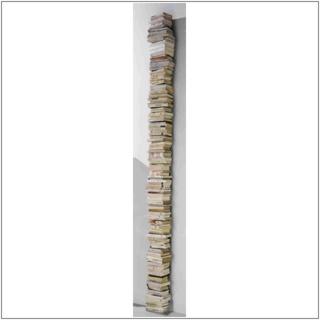 PTOLOMEO WALL Bücherregal Wandregal 210 cm schwarz