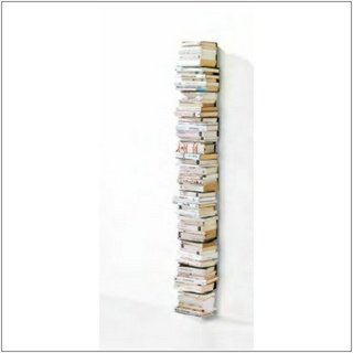 PTOLOMEO WALL Bücherregal Wandregal 70 cm weiß