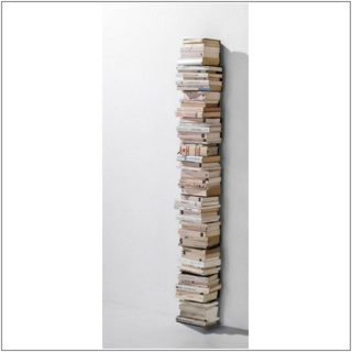 PTOLOMEO WALL Bücherregal Wandregal 155 cm weiß