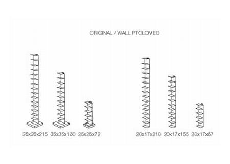 PTOLOMEO WALL Wandregal - Übersicht