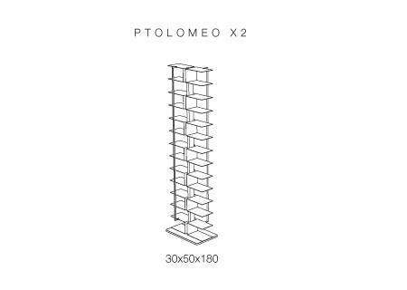 PTOLOMEO X2 Regal freistehend - Technische Daten