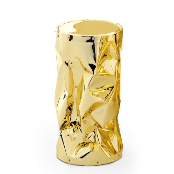 BIGTAB.U Hocker aluminium gold hochglanzpoliert