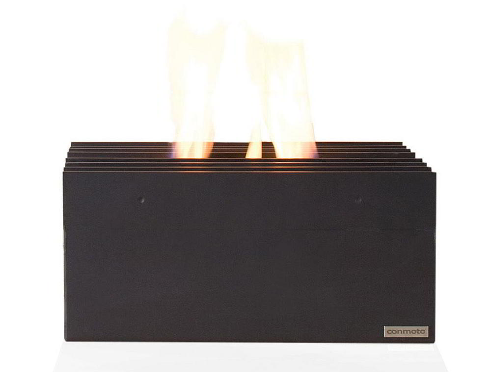 Wohnzimmer und Kamin bioethanol kamin tischfeuer : QUADRO Feuerbox / Kamineinsatz von Conmoto bei homeform.de