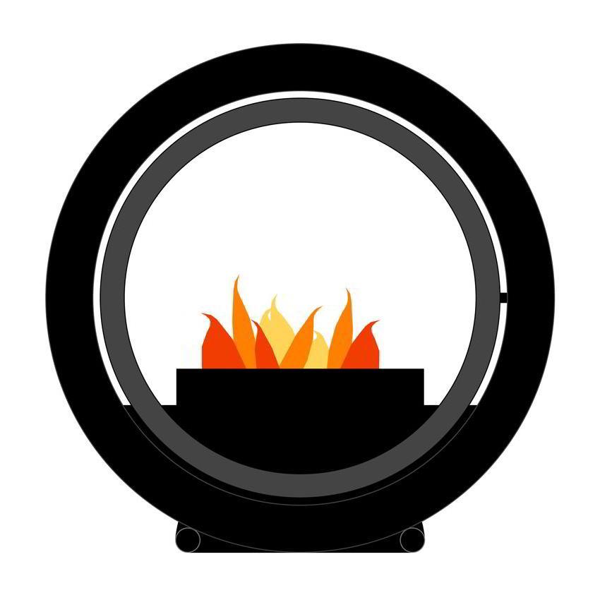 Anbringung Der Wandhalterung Für Den ROLL FIRE Kamin