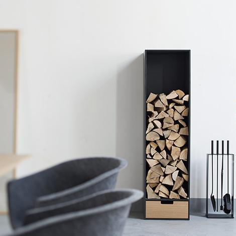 COVO Brennholz Regal