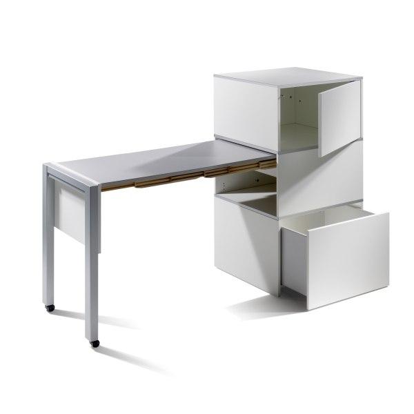 at cetera ausziehbarer schreibtisch von country living bei. Black Bedroom Furniture Sets. Home Design Ideas