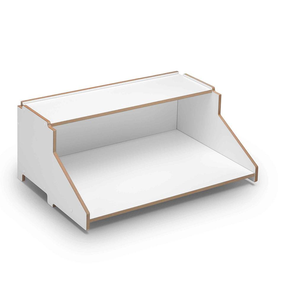 HARRY Regal Sekretär-Aufsatz stapelbar 33.5 cm, weiß