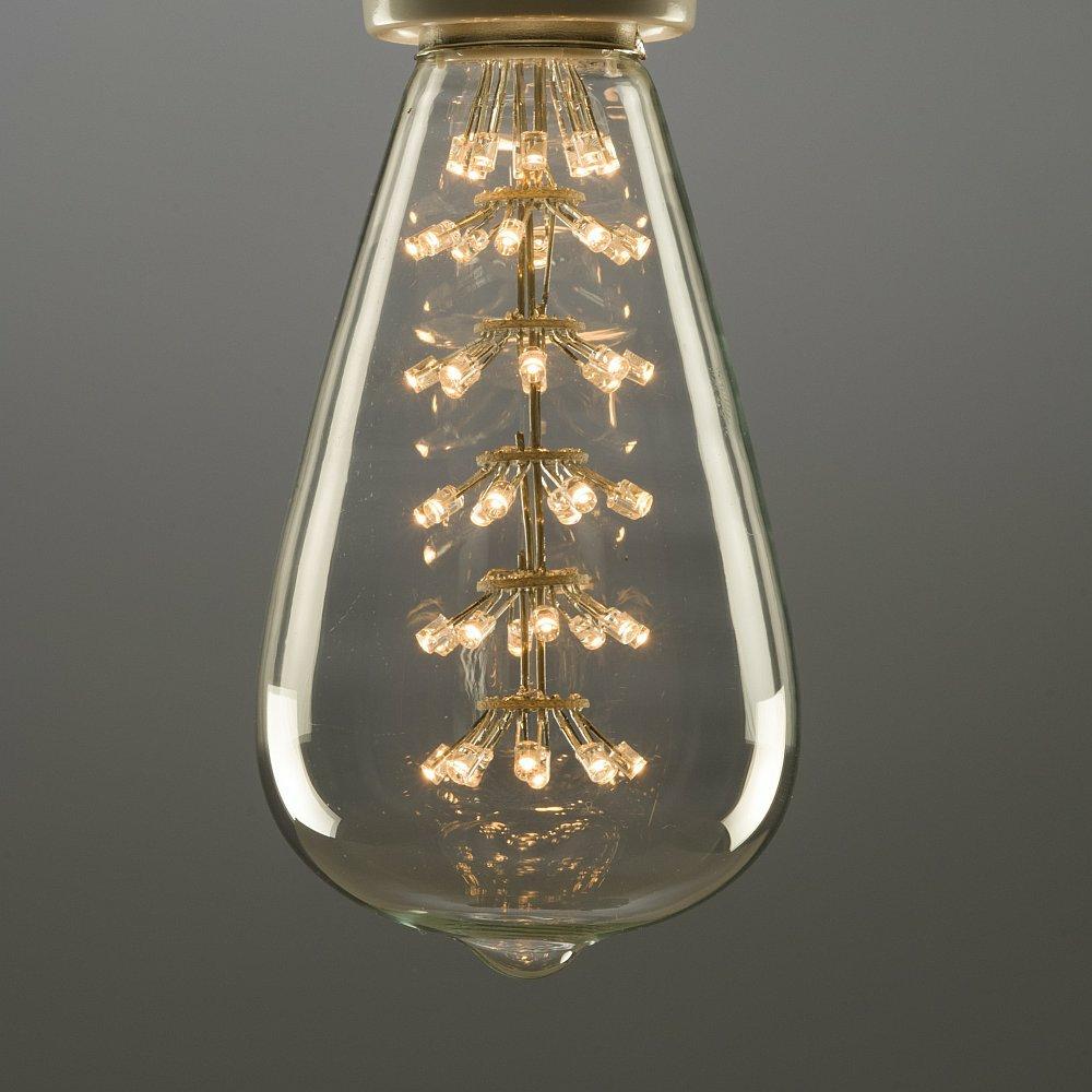 cr-collection Leuchtmittel F.1920 Kohlefaden-Optik Ferrowatt 60 Watt, dimmbar