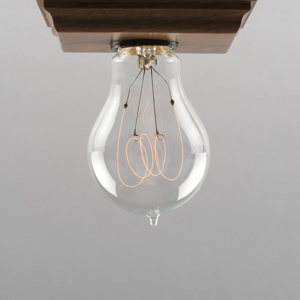 cr-collection Leuchtmittel RC.1920 echter Kohlefaden Ferrowatt 15 Watt