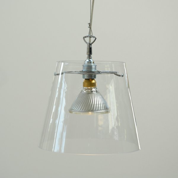 GIGANT Pendelleuchte Klarglas | die 1er-Version mit Kohlefaden