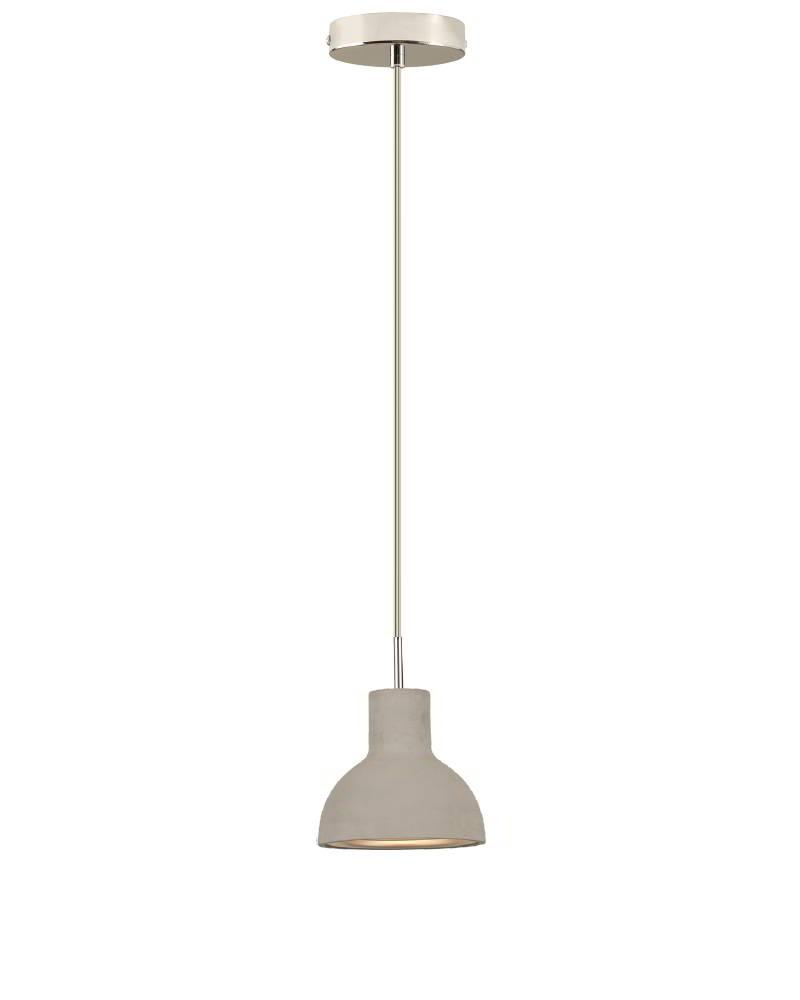 Bell 1er Pendelleuchte, 16 cm, 1 Schirm Beton