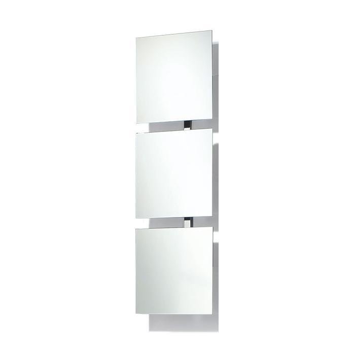 BAIKAL 3 verstellbare Spiegel, Gestell Aluminium poliert