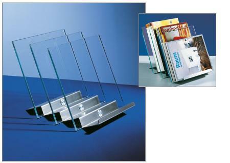 times 1 zeitungsst nder aus glas d tec bei. Black Bedroom Furniture Sets. Home Design Ideas