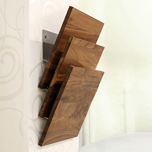times 2 zeitschriftenhalter von d tec bei. Black Bedroom Furniture Sets. Home Design Ideas