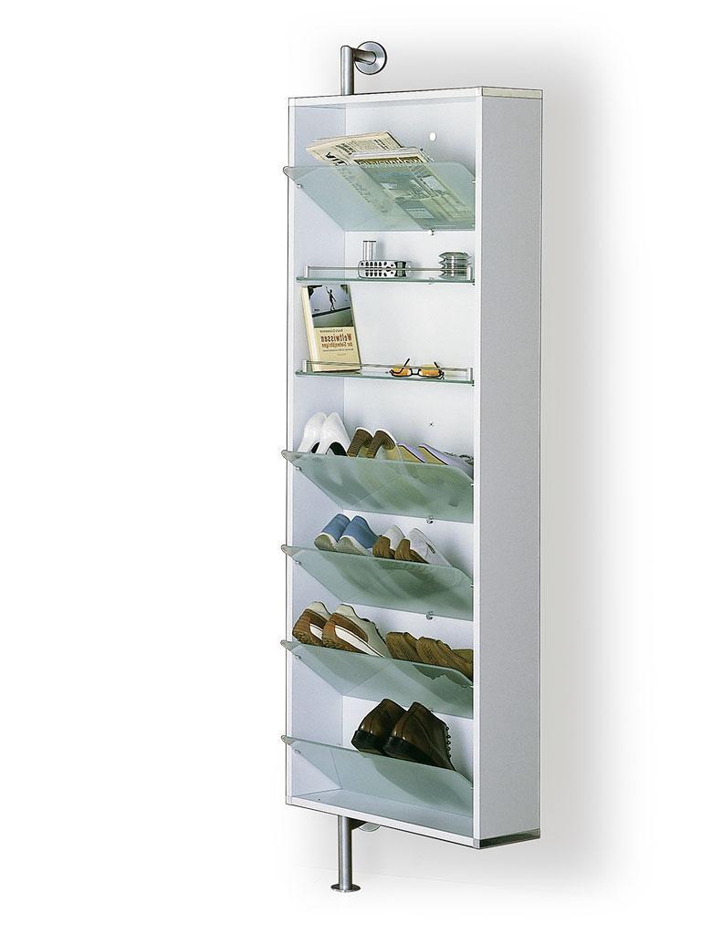 Regalboden, 1 Stück, für YALOU Garderoben, Glas ultrawhite