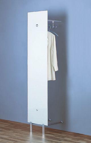 PACIFIC 503 B Standgarderobe ultrawhite mit Hutablage ultrawhite