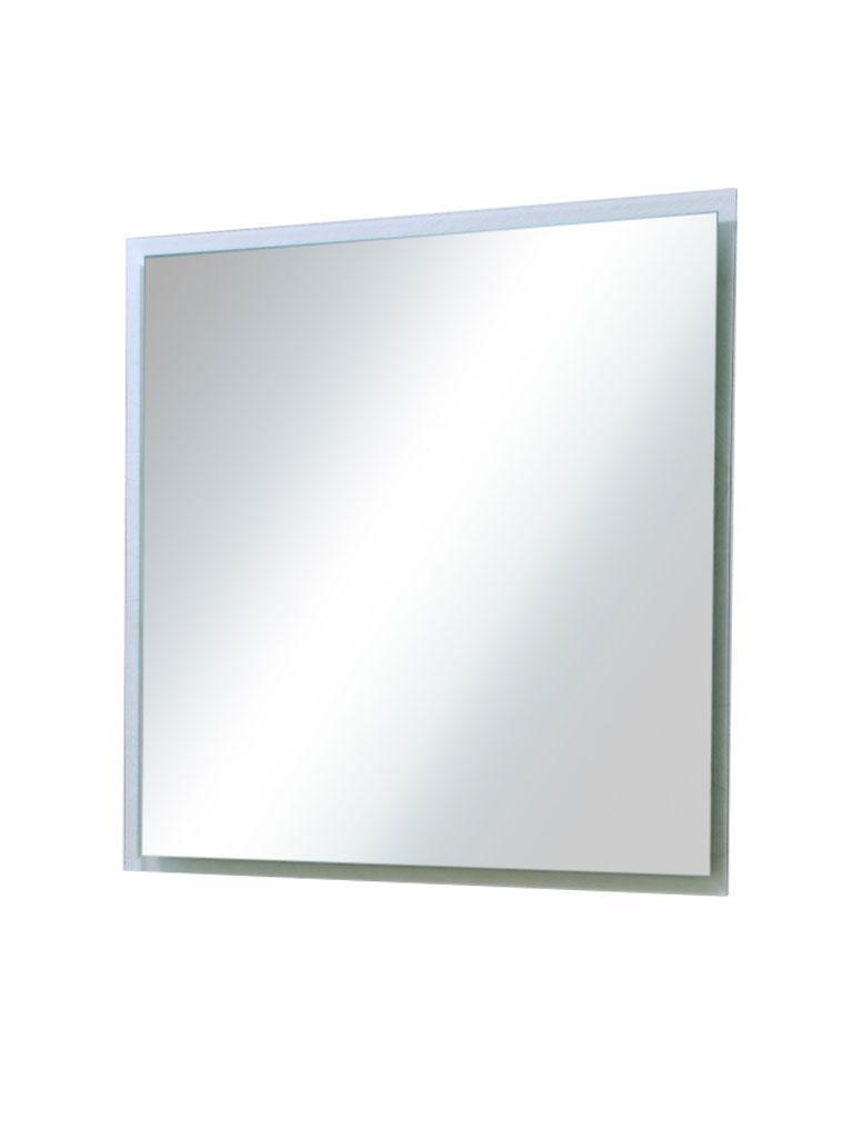 FACET 1 Wandspiegel, 60 x 60 cm, mit Facetten-Schliff