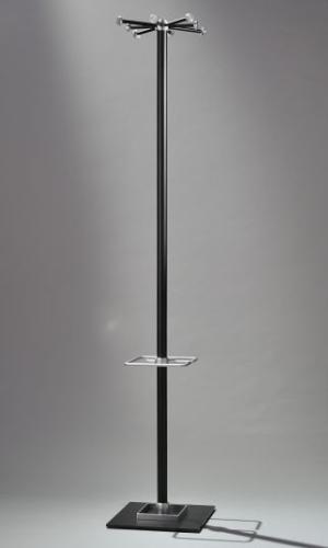 SPINNING WHEEL 2, 602-ds, drehbare Krone, schwarz, mit Schirmhalter