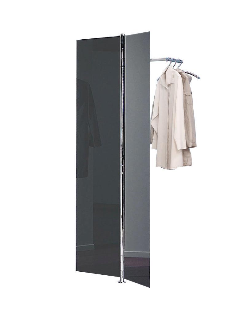 ALBATROS 1 Garderobe, Türen 2x anthrazit glänzend
