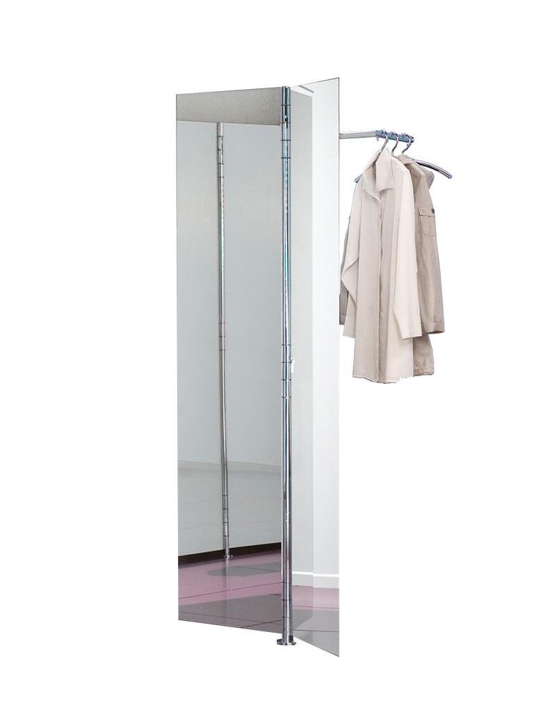 ALBATROS 1 Wandgarderobe mit 2 Spiegeltüren (Vorder- und Rückseite verspiegelt)
