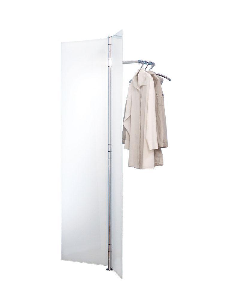ALBATROS 1 Garderobe, Türen 2x ultrawhite satinato