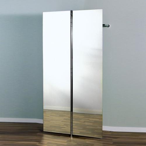 ALBATROS 7 Garderobe / Schuhschrank mit 2 Doppel-Spiegel Türen