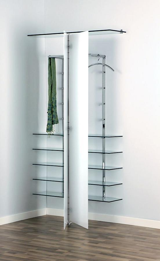 ALBATROS 7 Garderobe / Schuhschrank mit Türen ultrawhite, Kleiderbügel PENG