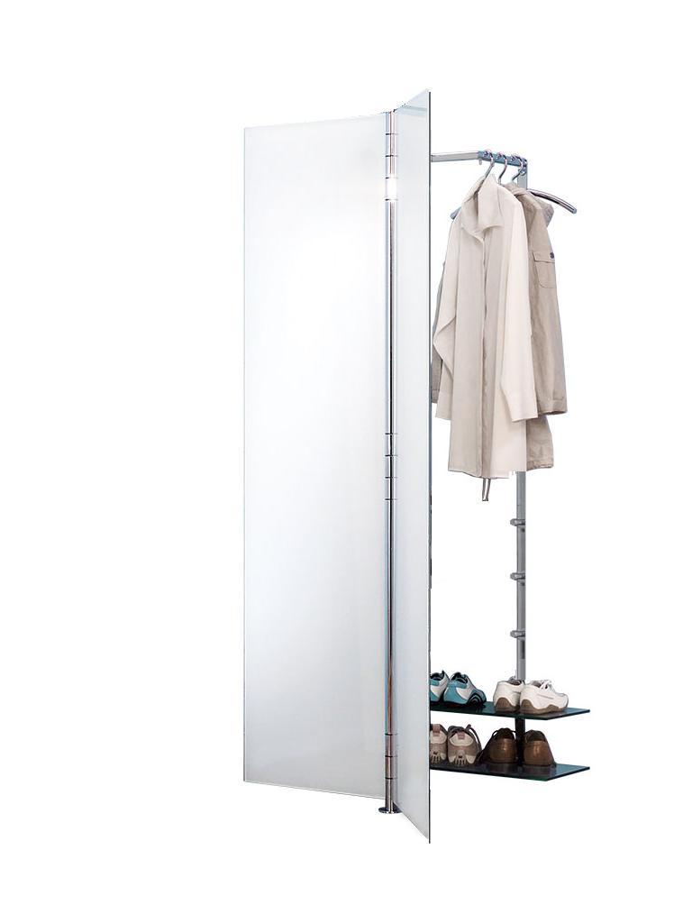 ALBATROS 7 Garderobe / Schuhschrank ultrawhite mit Kleiderbügel PENG