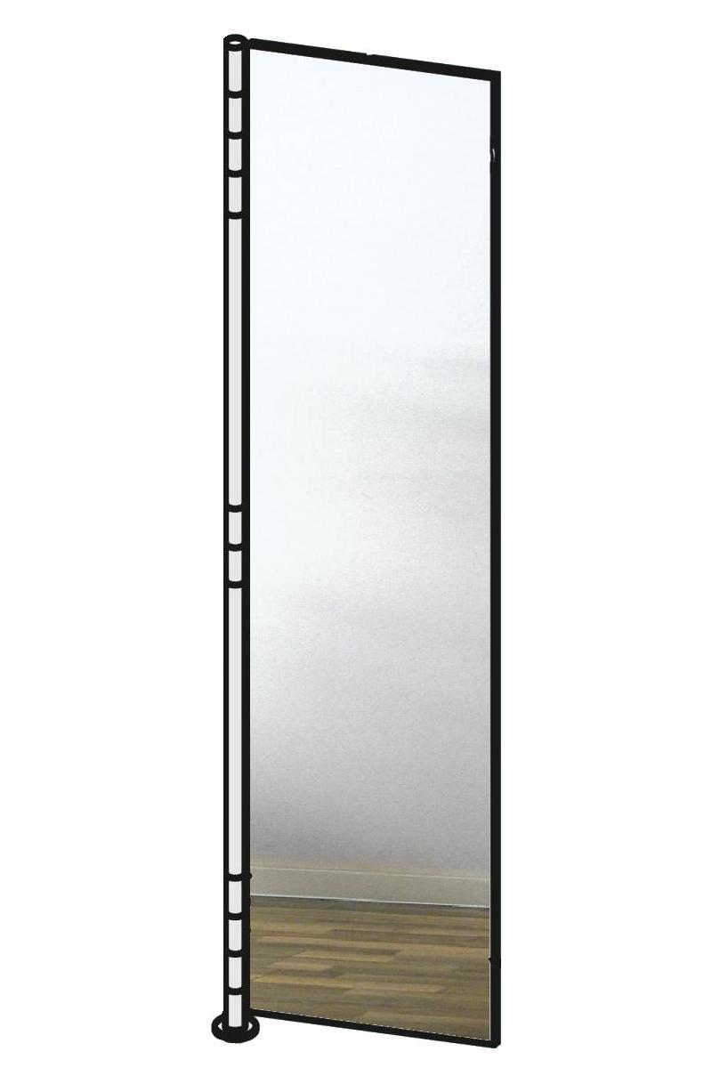 ALBA 2 Wandgarderobe Spiegeltür