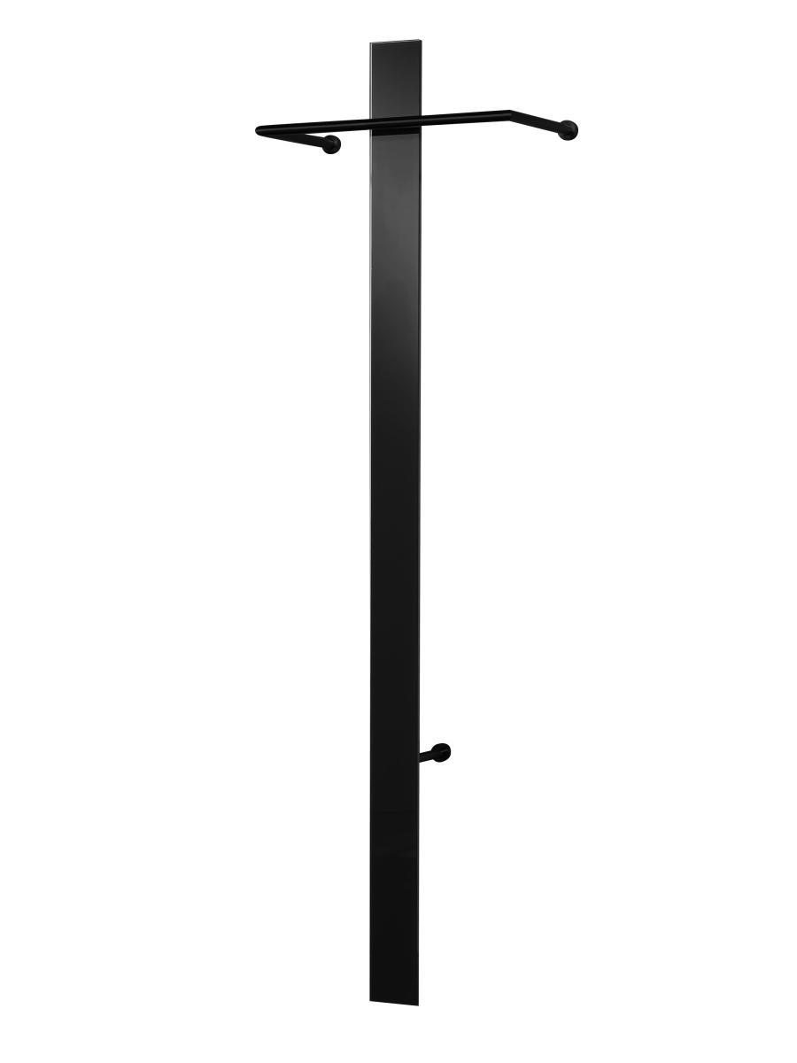 MISTER T Black Edition Wandgarderobe schwarz