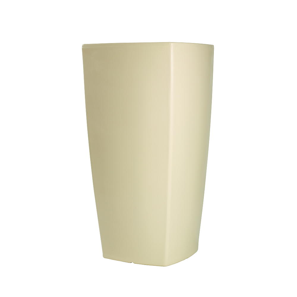 TREVIA beleuchtetes Pflanzgefäß 150 cm weiß