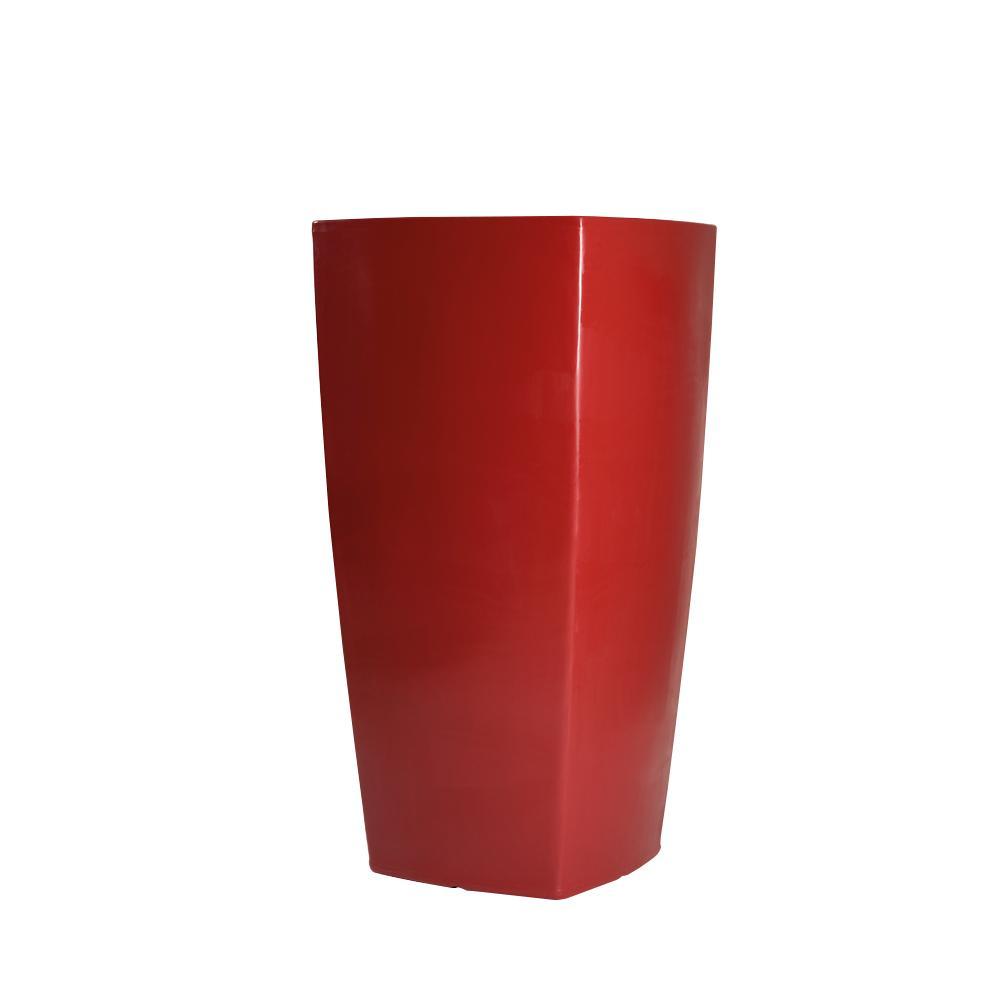 TREVIA I Pflanzgefäß 150 cm rubinrot