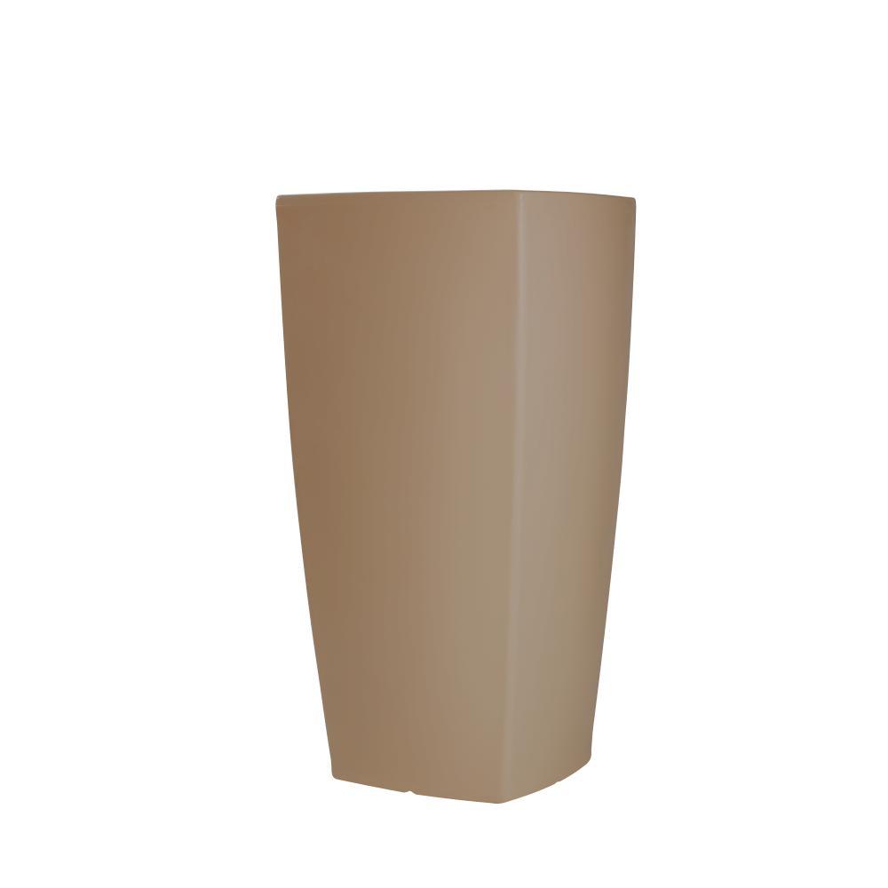 TREVIA II Pflanzgefäß 130 cm clay / graubeige