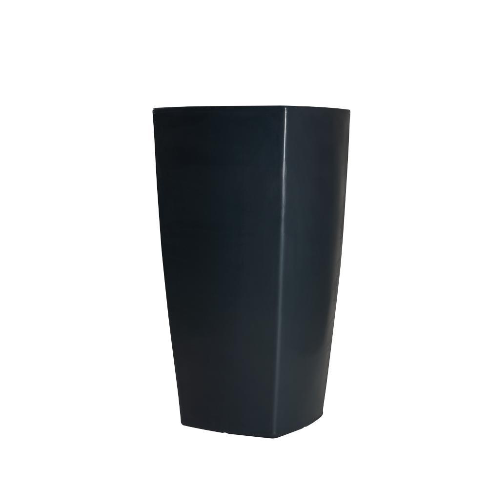 TREVIA II Pflanzgefäß 130 cm schwarz