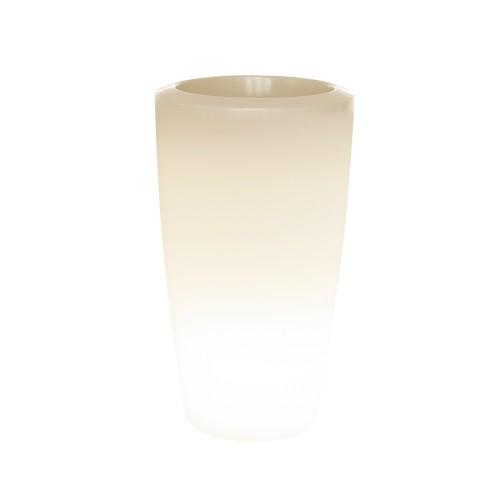 ROVIO III Pflanzsäule 110 cm beleuchtet mit LED-RGB 8-farbig