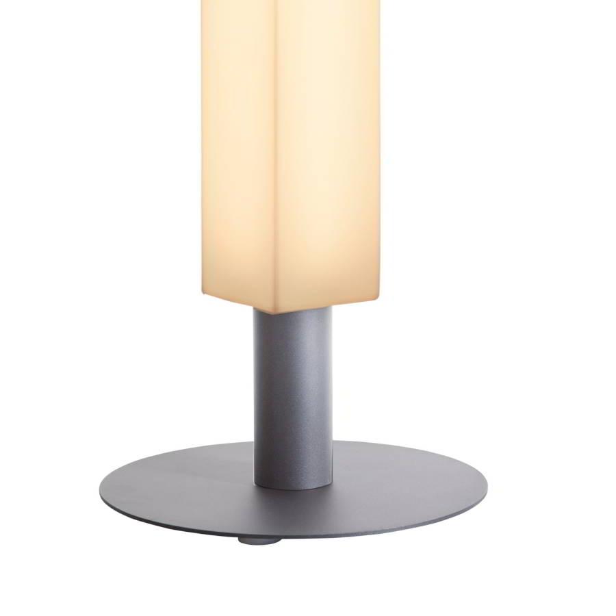 Standfuß für LUNOCS Leuchten, silbergrau metallic matt
