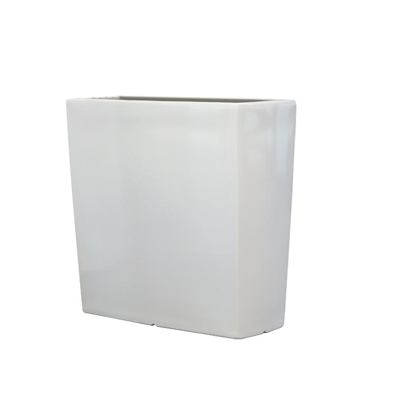 TREVIA 900 K Pflanzbank weiß hochglanz lackiert (RAL 9016)