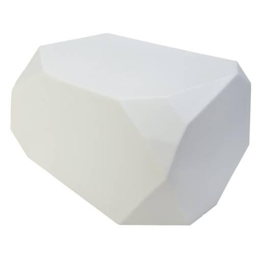 SERENO Sitzkristall Hocker beleuchtet, weiß