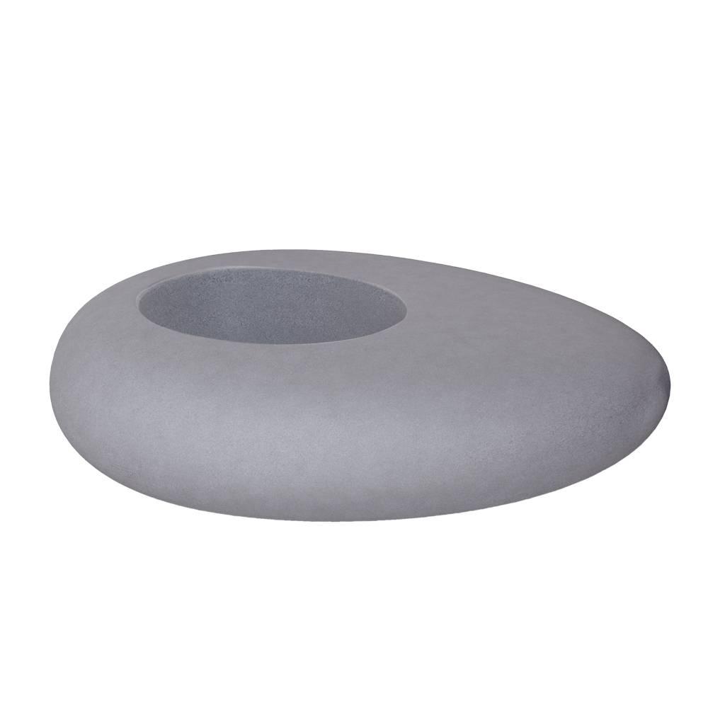 STORUS I Pflanzgefäß Granit-Optik dunkelgrau