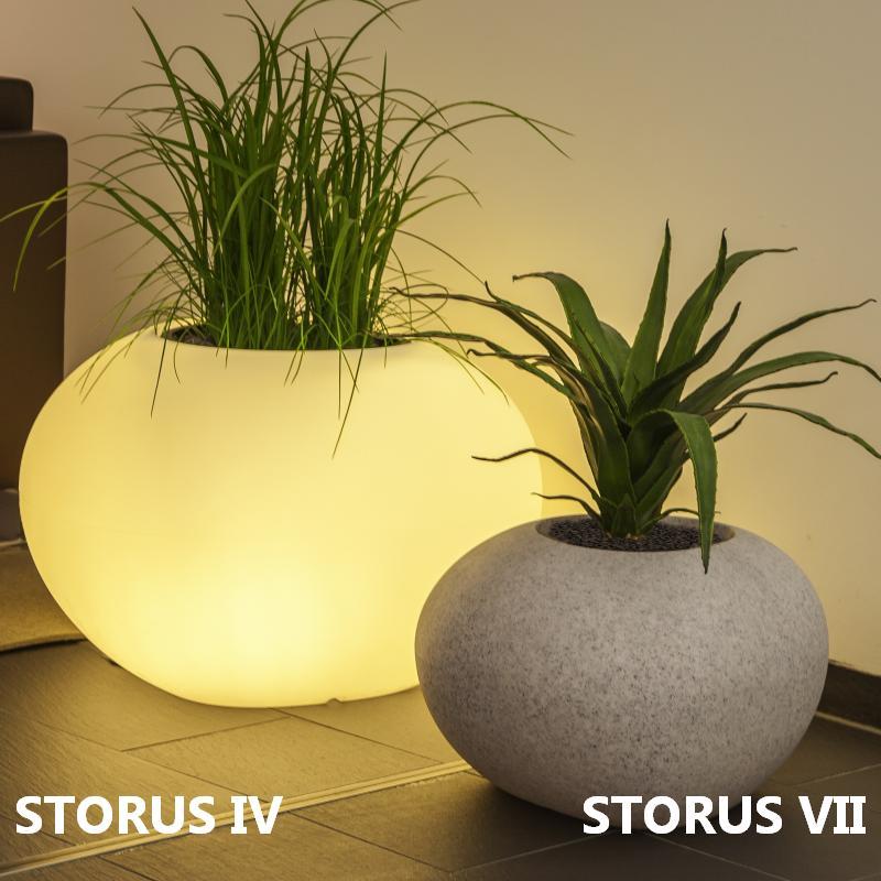 STORUS VI Pflanzgefäß beleuchtet 52 cm
