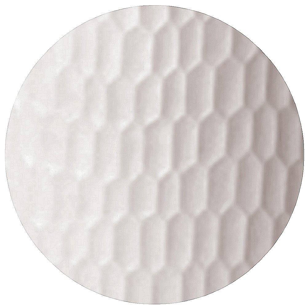 SERENO Pflanzgefäß Slim beleuchtet in weiß