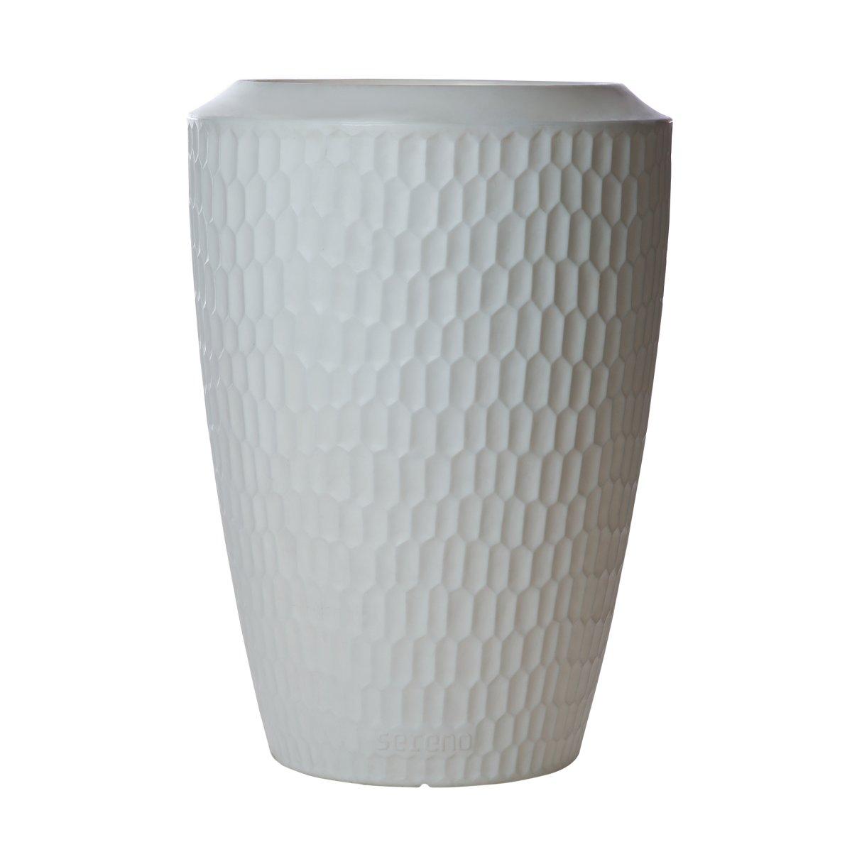 SERENO Pflanzgefäß beleuchtet 120 cm weiß