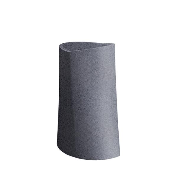 VARIA Pflanzgefäß granit dunkel